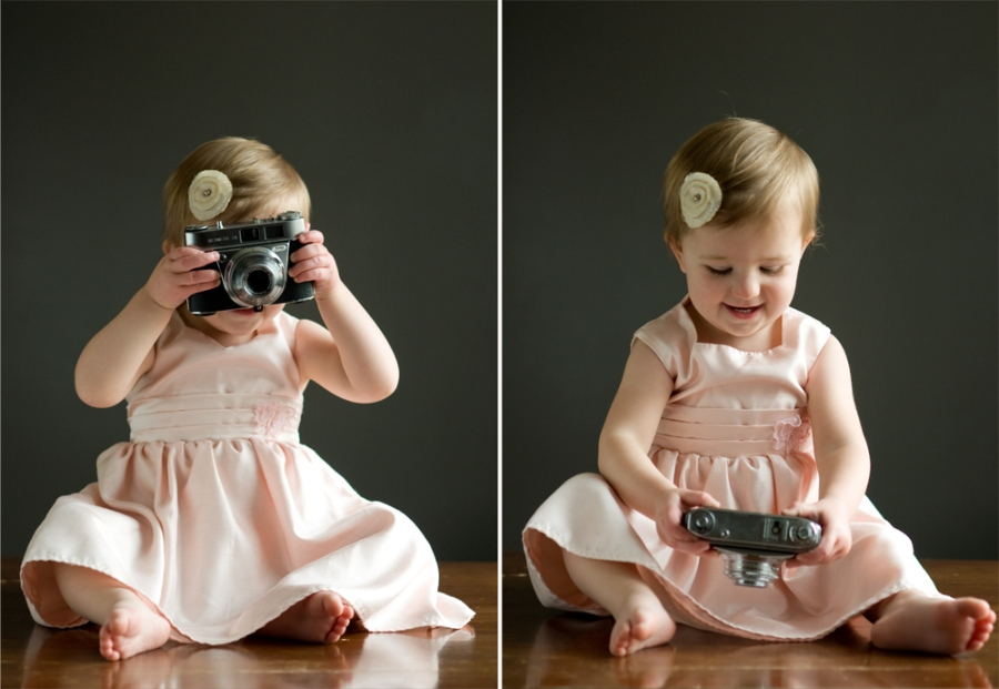 She's gonna be a photographer!!!