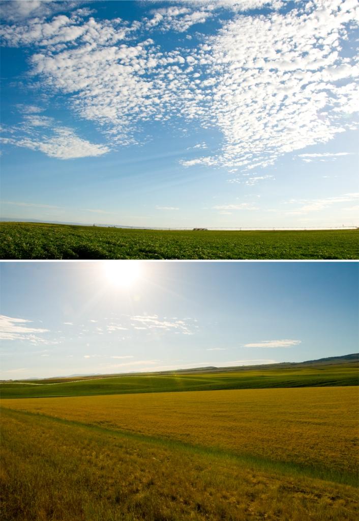 Driggs, Idaho scenic landscape
