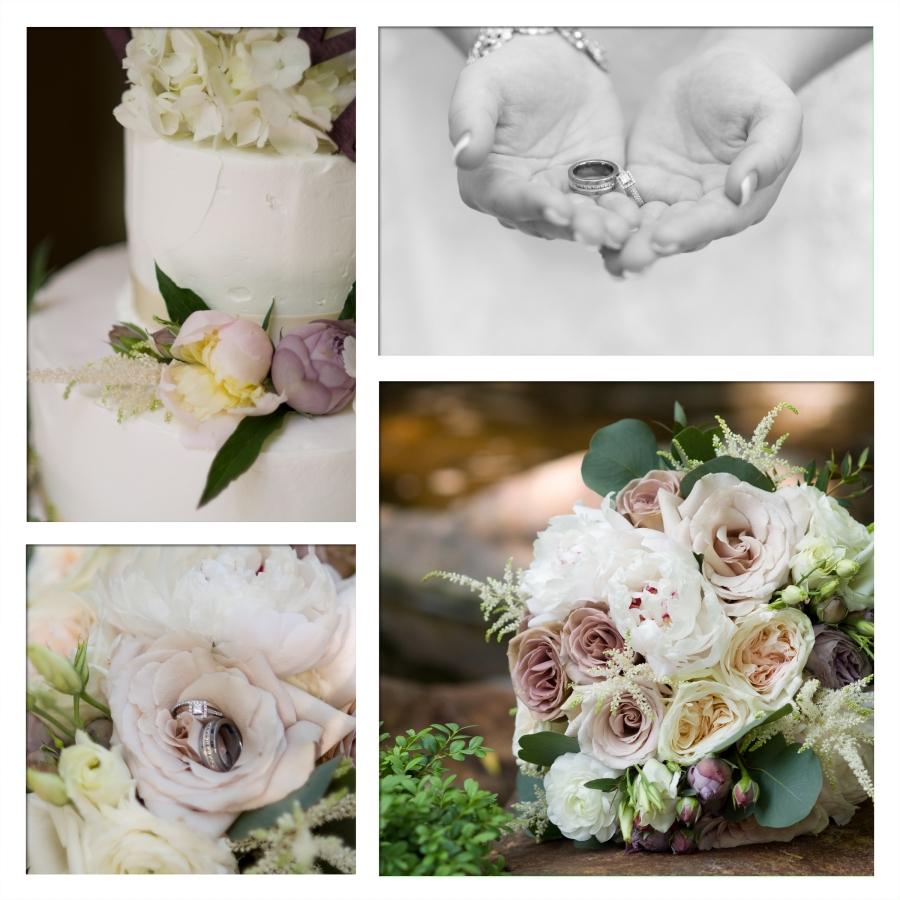 Cake Ring flowers