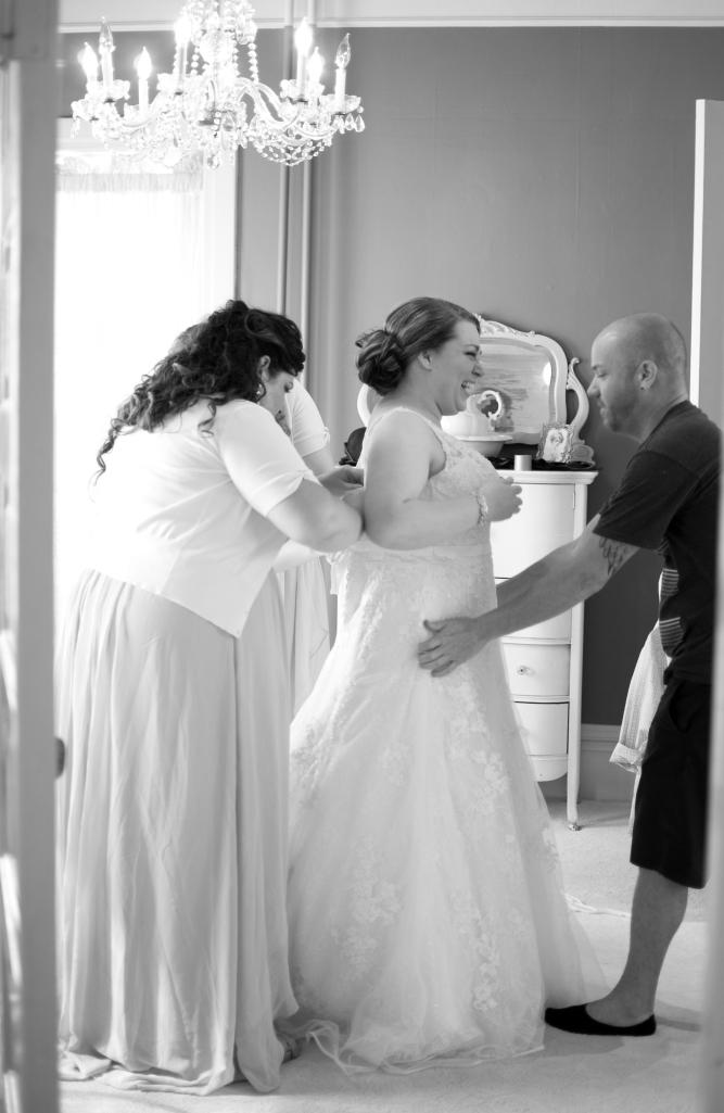 Getting Ready Wedding