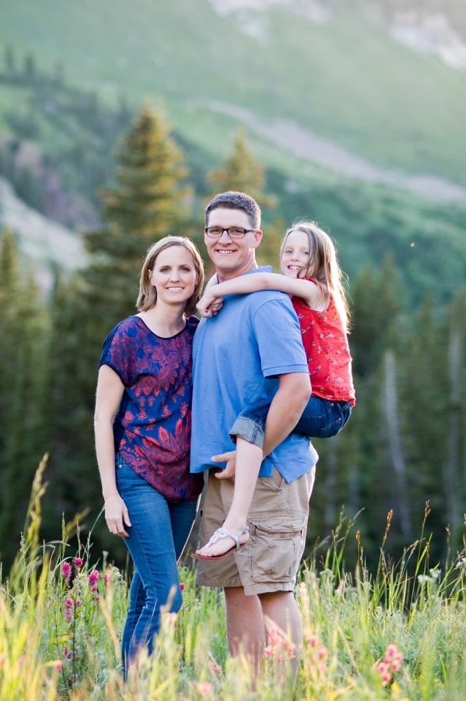 Cottonwood Canyon, Alta, mountains, wild flowers